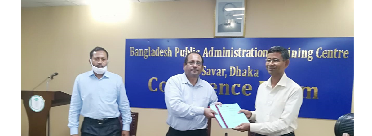 APA signing program with RPATC, Khulna in BPATC